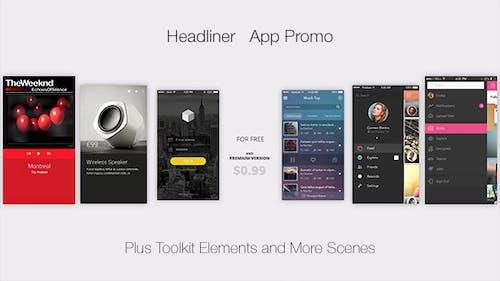Headliner l App Promo