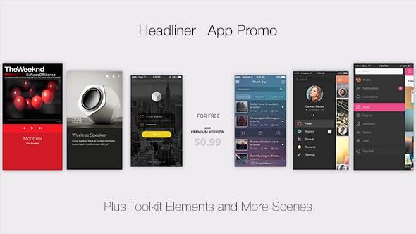 Thumbnail for Headliner l App Promo
