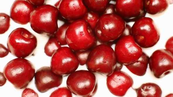 Thumbnail for Milk Fills Into Cherries