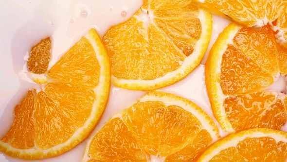 Thumbnail for Milk Fills Orange Slices