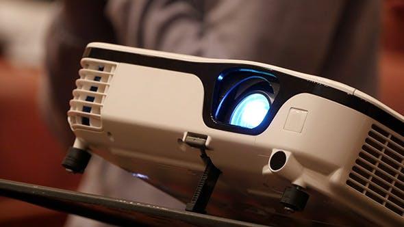 Thumbnail for Digital Film Projector Lens