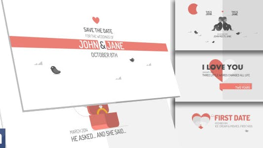 Thumbnail for Save The Date - Funny Wedding Invitation