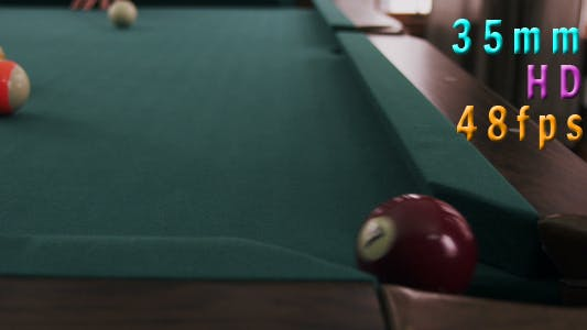 Thumbnail for Billiards Game In Action 13