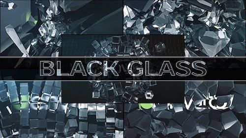 Black Glass Logo (5-pack)