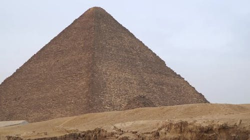 The Pyramid of Menkaure is the smallest of the three main Pyramids of Giza