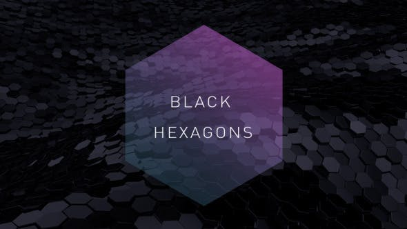 Cover Image for Black Hexagons