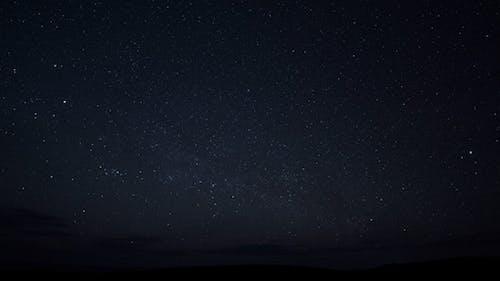 Stars Sky With Milkyway