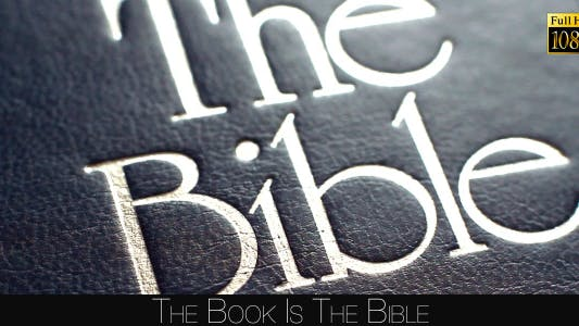 Thumbnail for The Book Is The Bible