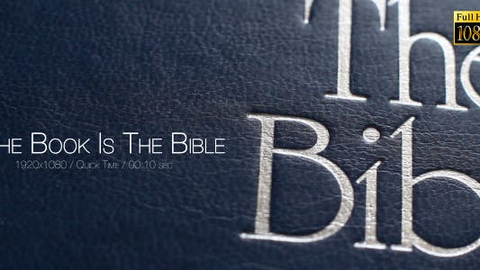 Thumbnail for The Book Is The Bible 4