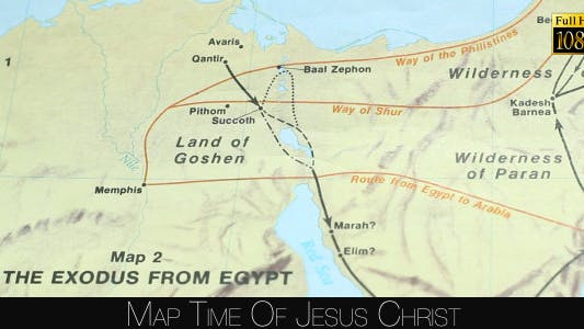 Thumbnail for Map Time Of Jesus Christ