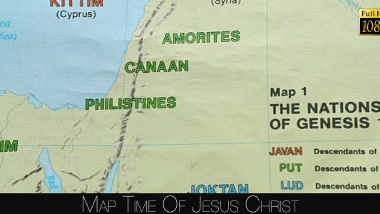 Thumbnail for Map Time Of Jesus Christ 2