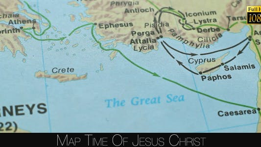 Thumbnail for Map Time Of Jesus Christ 4