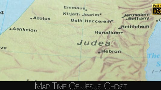 Thumbnail for Map Time Of Jesus Christ 5