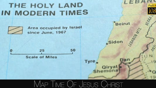Thumbnail for Map Time Of Jesus Christ 6