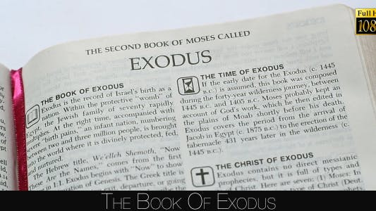Thumbnail for The Book Of Exodus