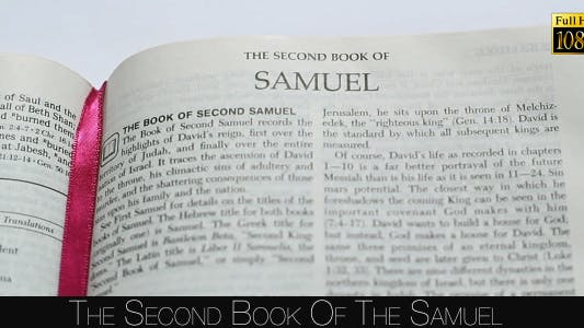 Cover Image for The Second Book Of The Samuel