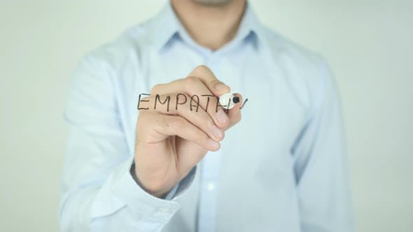 Cover Image for Empathy, Writing On Screen