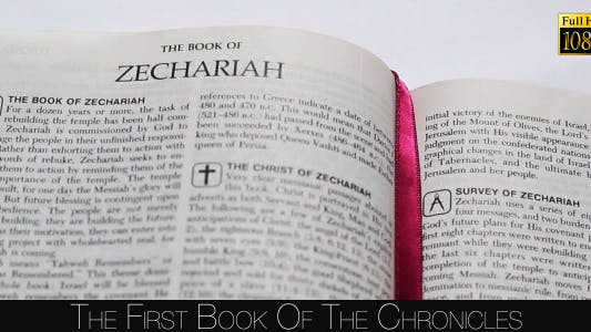 Thumbnail for The First Book Of The Zechariah