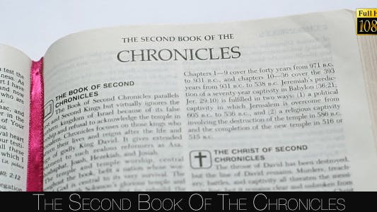 Cover Image for The Second Book Of The Chronicles
