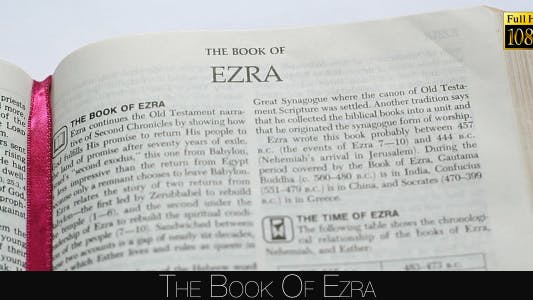 Cover Image for The Book Of Ezra