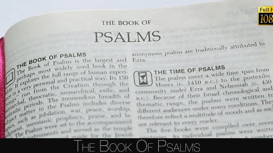 Cover Image for The Book Of Psalms