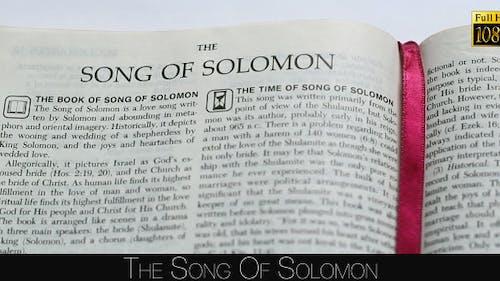Le chant de Salomon