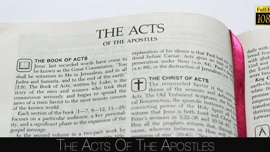 Cover Image for The Acts Of The Apostles