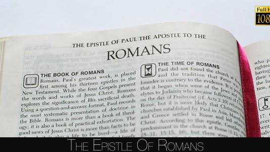 Cover Image for The Epistle Of Romans
