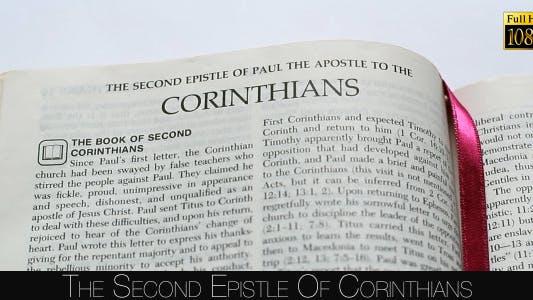 Thumbnail for The Second Epistle Of Corinthians