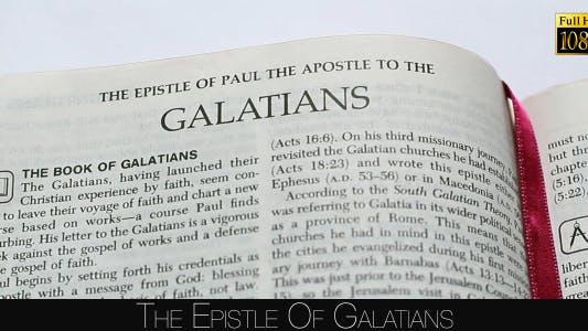 The Epistle Of Galatians