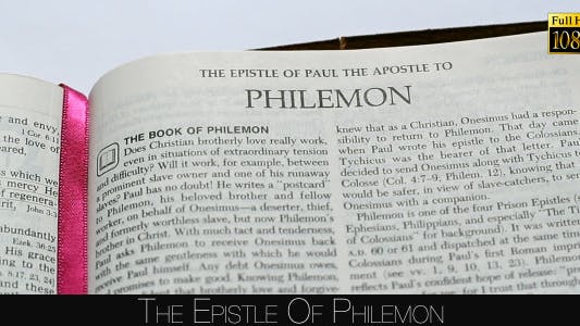 Thumbnail for The Epistle Of Philemon