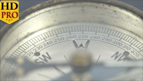 Thumbnail for The Arrow of the Compass on the N Direction