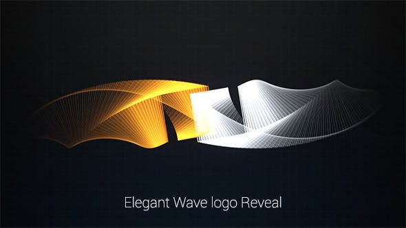 Thumbnail for Elegant Wave Logo Reveal