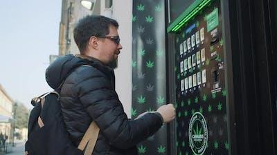 Cannabis Vending Machine in Italy