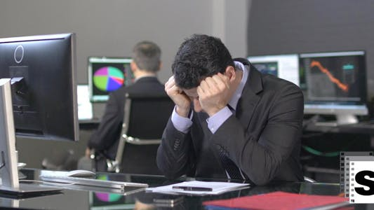 Thumbnail for Business Stress In Office
