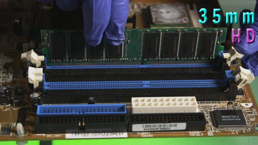 Thumbnail for Removing And Replacing Computer Ram Chip 11