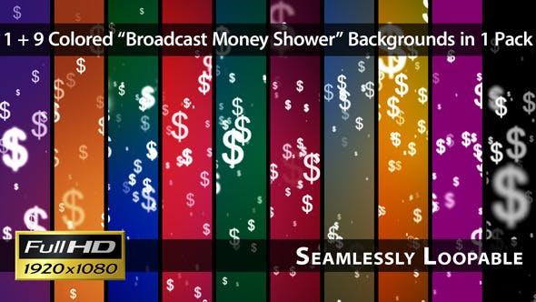 Thumbnail for Broadcast Money Shower - Pack 01