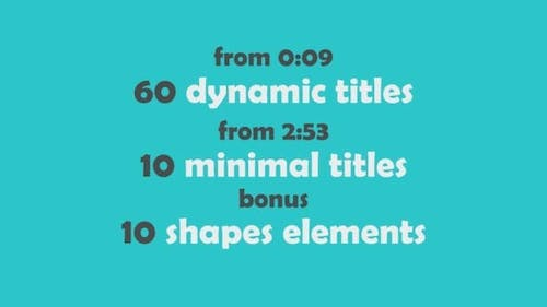 70 Text Animations Pack