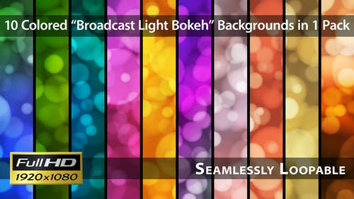 Broadcast Light Bokeh - Pack 08