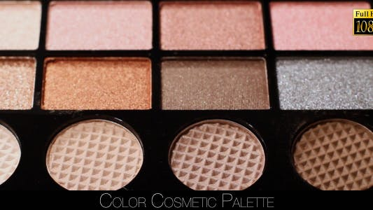 Cover Image for Color Cosmetic Palette 3