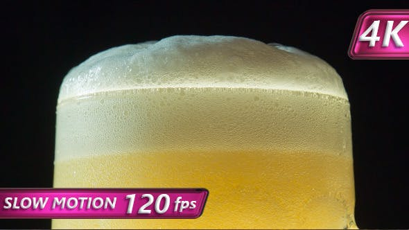 Cover Image for Froth on a Mug of Beer