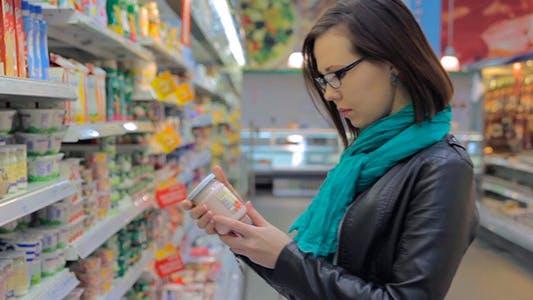 Thumbnail for Young Mother Buys Yogurt