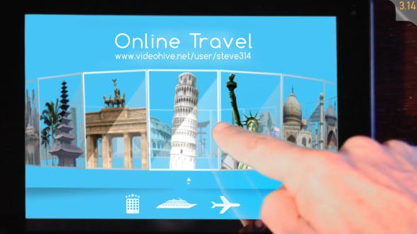 Thumbnail for Online Travel Agency Advert