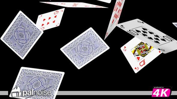 Thumbnail for Poker Cards Falling 02