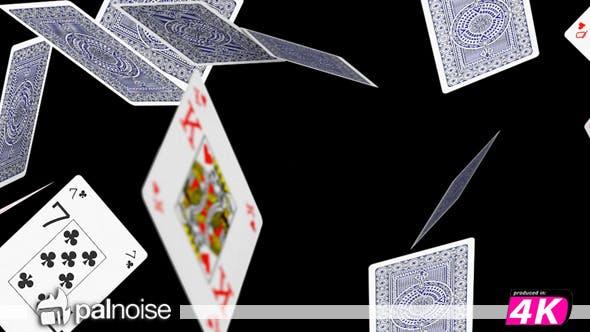 Thumbnail for Poker Cards Falling 01