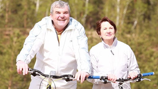 Thumbnail for Seniors with bikes
