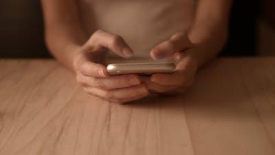Surfing Website On Smartphone