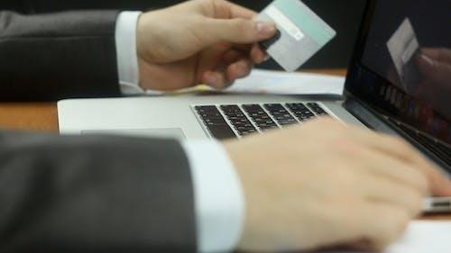 Businessman Online Payment