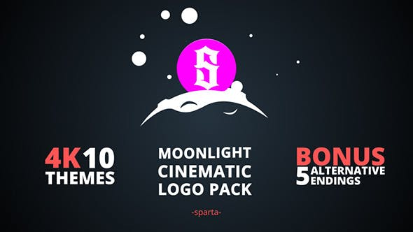 Thumbnail for Moonlight Cinématographique Logo Pack