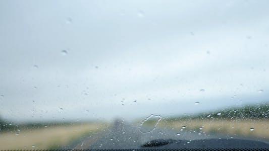 Thumbnail for Rain on Windshield